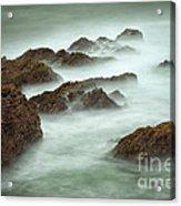 Misty Waves Acrylic Print
