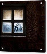 Misty Window Acrylic Print