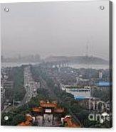 Misty Wuhan Acrylic Print