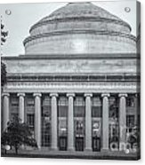 Mit Building 10 And Great Dome II Acrylic Print