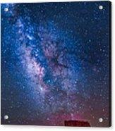 Mitchell Butte Milky Way Acrylic Print