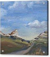 Mitchell Pass Western Nebraska Acrylic Print