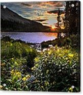 Mitchell Sunrise Acrylic Print
