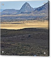 Miter Peak Acrylic Print