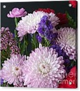 Mixed Bouquet Acrylic Print