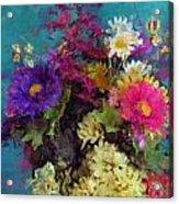 Mixed Bouquet Acrylic Print
