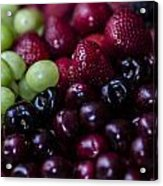 Mixed Fruit Acrylic Print