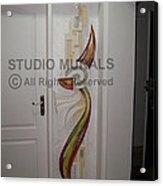 Mixed Media Mural Acrylic Print