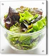 Mixed Salad In A Cup Acrylic Print
