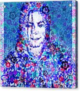 Mj Floral Version 2 Acrylic Print