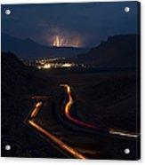 Moab Storm Acrylic Print