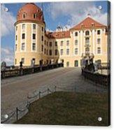 Moated Castle Moritzburg Acrylic Print