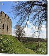 Moated Castle Acrylic Print
