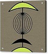 Mobile 3 In Green Acrylic Print