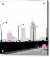 Mobile Bay Ball Acrylic Print