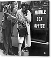 Mobile Box Office Phone Acrylic Print