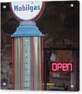 Mobilgas Acrylic Print