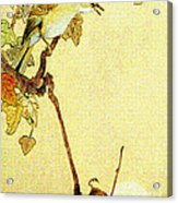 Mockingbird 1890 Acrylic Print by Padre Art