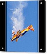 Model Plane 10 Acrylic Print