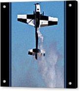 Model Plane 11 Acrylic Print