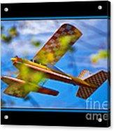 Model Plane 2 Acrylic Print