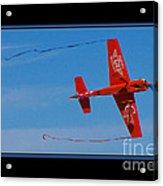 Model Plane 6 Acrylic Print