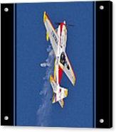 Model Plane 9 Acrylic Print