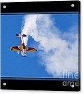 Model Plane Acrylic Print
