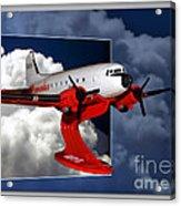 Model Planes Dc3 01 Acrylic Print