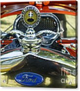 Model T Ford Acrylic Print by Robert Bales