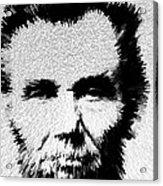 Modern Abe - Abraham Lincoln Art By Sharon Cummings Acrylic Print