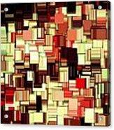 Modern Abstract Art Xvii Acrylic Print