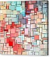 Modern Abstract X Acrylic Print