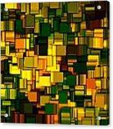Modern Abstract Xxii Acrylic Print by Lourry Legarde