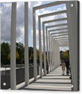 Modern Archway - Schwerin Garden -  Germany Acrylic Print