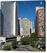 Modern Buildings In Central Rio De Acrylic Print