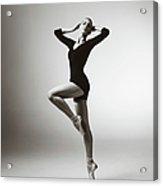 Modern Dancer Acrylic Print