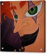 Modern Day Joker Acrylic Print