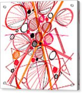 Modern Drawing Fifty-four Acrylic Print
