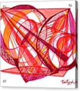 Modern Drawing Seventy-one Acrylic Print