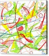 Modern Drawing Seventy-three Acrylic Print