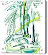 Modern Drawing Sixty-four Acrylic Print