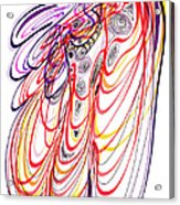 Modern Drawing Sixty-three Acrylic Print