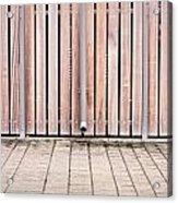Modern Fence Acrylic Print