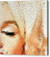 Modern Marilyn - Marilyn Monroe Art By Sharon Cummings Acrylic Print