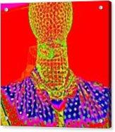 Modern Mesh Mosaic Acrylic Print