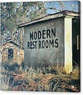 Modern Restrooms Acrylic Print