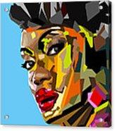 Modern Woman Acrylic Print