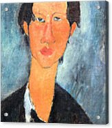 Modigliani's Chaim Soutine Up Close Acrylic Print