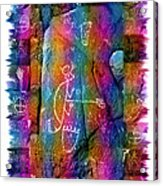 Mogollon Blanket Of Legends Acrylic Print